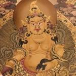 yellow jambala Thangka