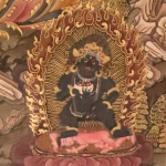 Black Jambala Thangka