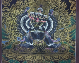 Yamantaka Thangka Painting