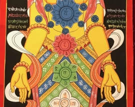 7 Chakra Thangka