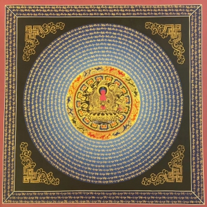 Amitaba Buddha Mandla with Mantra