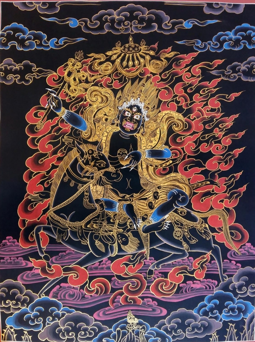 Palden Lhamo Thangka Painting