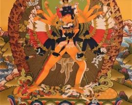 Kalachakra Shakti Thangka