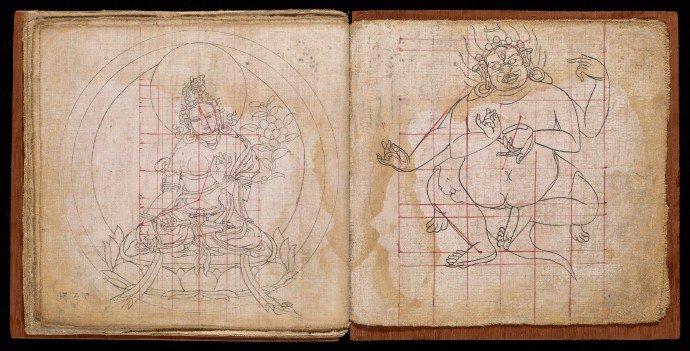 Measures of Tibetan Statues