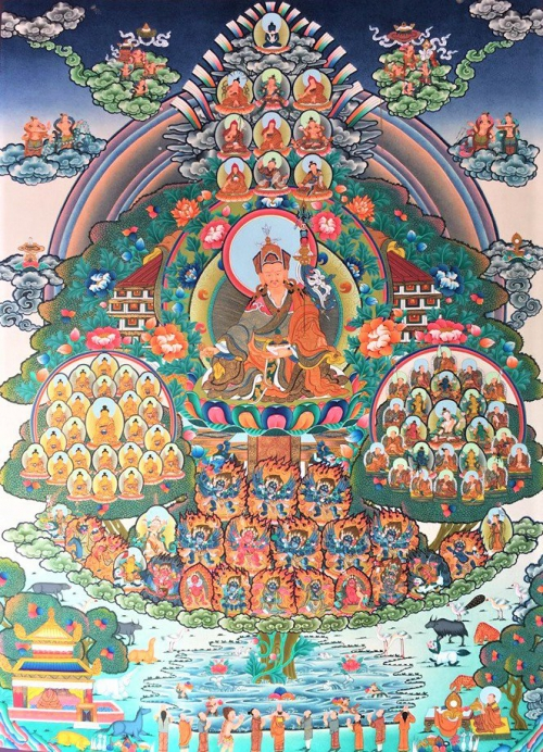 Nyingma Tree lineage thangka1