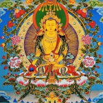 Ksitigarbha Thangka Painting