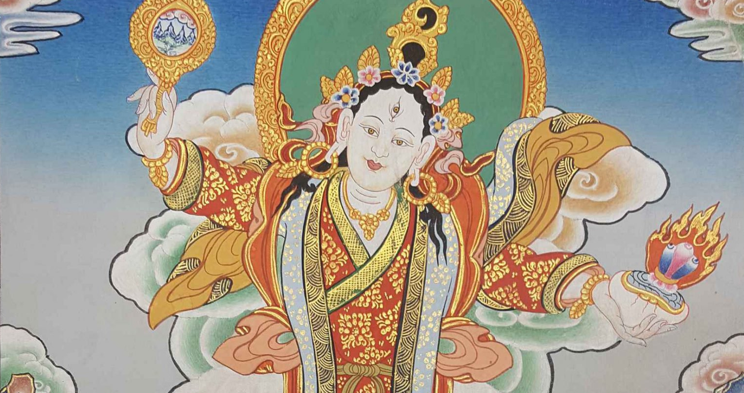 Mandarava Thangka Painting