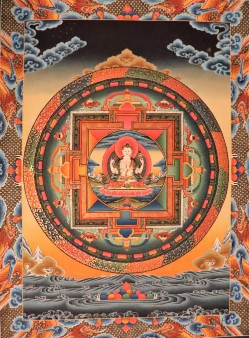 Chenrezig Tibetan Mandala