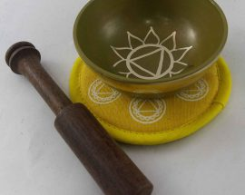 Yellow Solar Plexus Chakra Singing Bowl