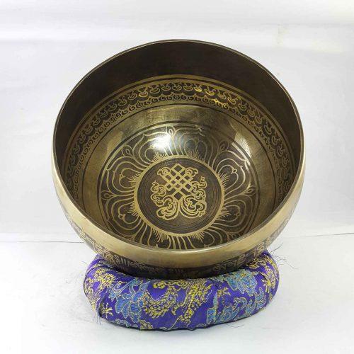 Bronze Srivastava singing bowl