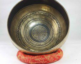 Bronze Moon singing bowl