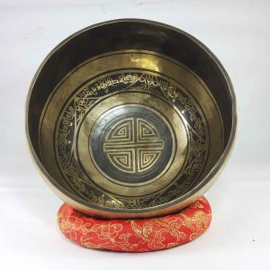 Bronze Moon singing bowl
