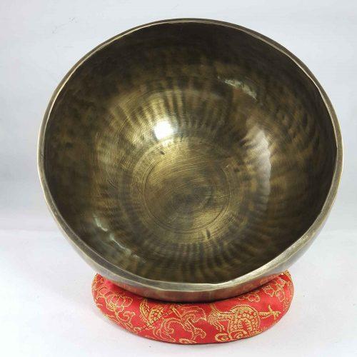 Bronze Singing Bowl Antique finishing