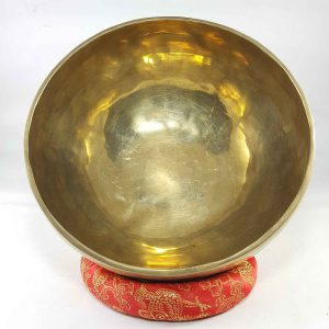 Bronze Singing Bowl shiny finishing