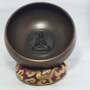 Buddha Embossed Singing Bowl