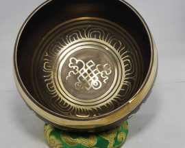 Endless Knot Design Singing Bowl