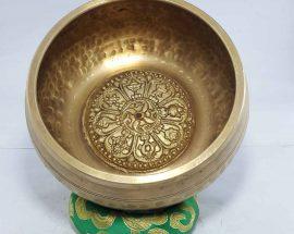 Astha Mangala Embossed Singing Bowl