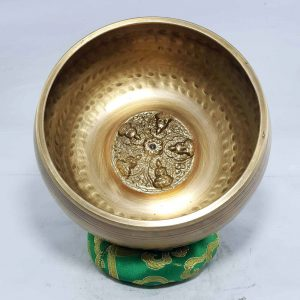 Pancha Buddha Embossed Singing bowl