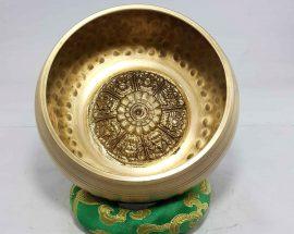 Astha Mangal Embossed Singing bowl