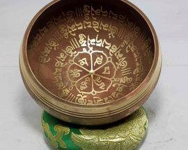 Om Mane Padme Hum Mantra singing bowl