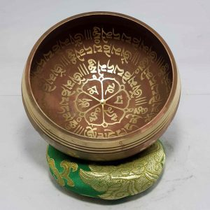 Om Mane Padme Hum Mantra singing bowl
