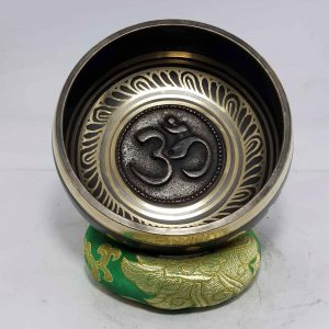 Om Embossed Singing Bowl
