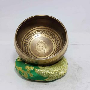 Om Design Singing Bowl