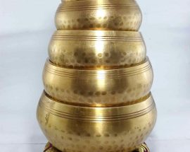 Singing bowl 6pcs Set Casting Brass