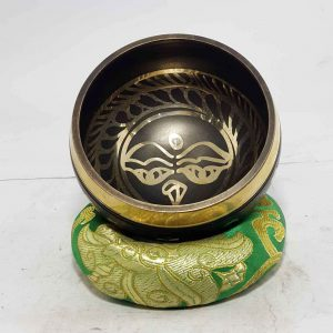 Buddha Eye Design Singing Bowl