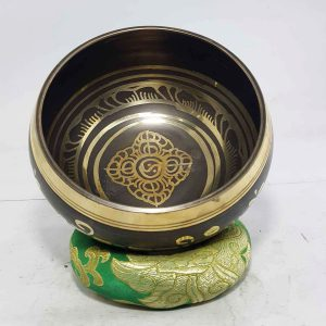 Double Dorje Design Singing Bowl
