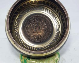 Buddha Mandala Embossed Singing Bowl