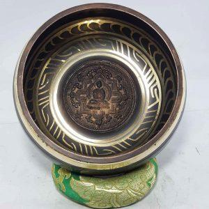 Buddha Mandala Embossed Singing Bowl