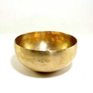 Antique Handmade Singing Bowl 293 Hz D4 Chakra