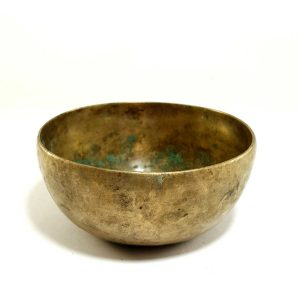 Antique Handmade Singing Bowl 295hz D4 Chakra