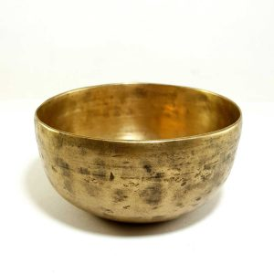 Antique Handmade Singing Bowl 365hz F4 Chakra