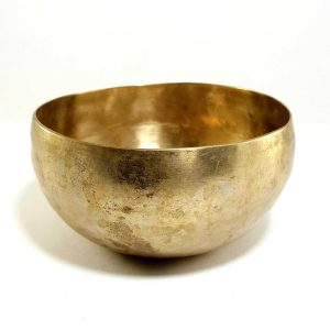 Antique Handmade Singing Bowl 212 Hz G3 Chakra