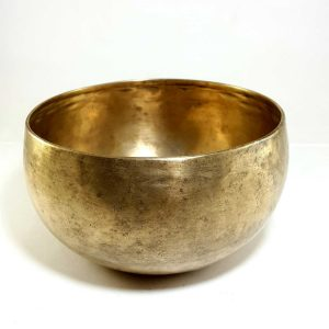 Antique Handmade Singing Bowl 134 Hz D#3 Chakra