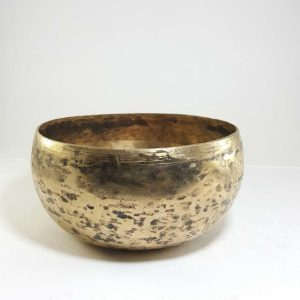 Antique Handmade Singing Bowl F3 Chakra