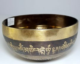 Therapeutic singing bowl A Third Eye