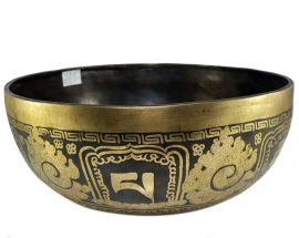 Therapeutic singing bowl A Crown Chakra