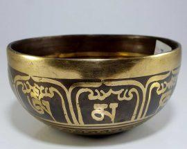 Therapeutic singing bowl G Throat Chakra
