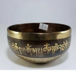Therapeutic singing bowl G Throat Chakra