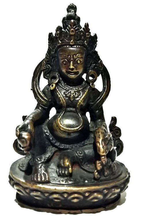 Yellow Jambhala Statue