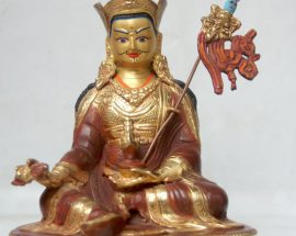 Padmasambhava Copper Statue