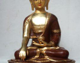 Shakyamuni Buddha Copper Statue