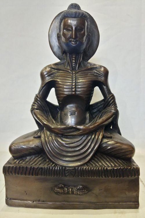 Fasting Buddha Statue