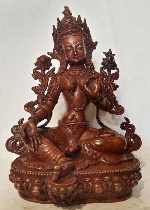 High Quality Green Tara Statue