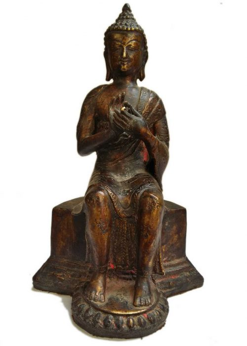 +50 Year Old Antique Statue of Maitreya Buddha