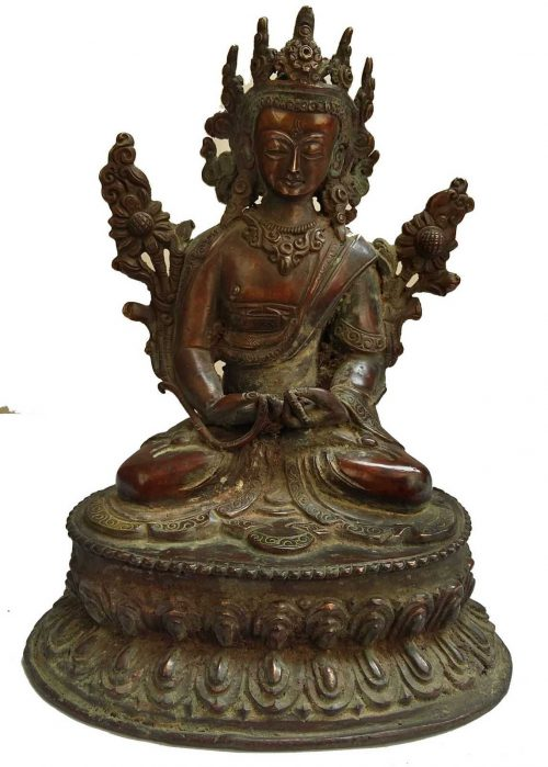 +50 Year Old Unique Antique Statue of Maitreya Buddha