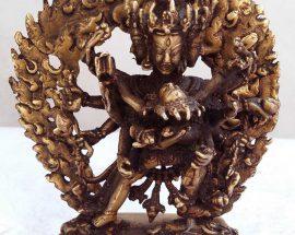 Chakrasambara Statue Bronze finishing